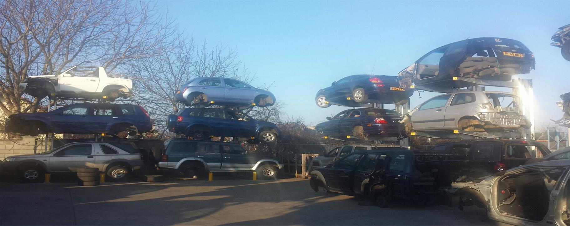 Rafturi Cantilever parc dezmembrari auto