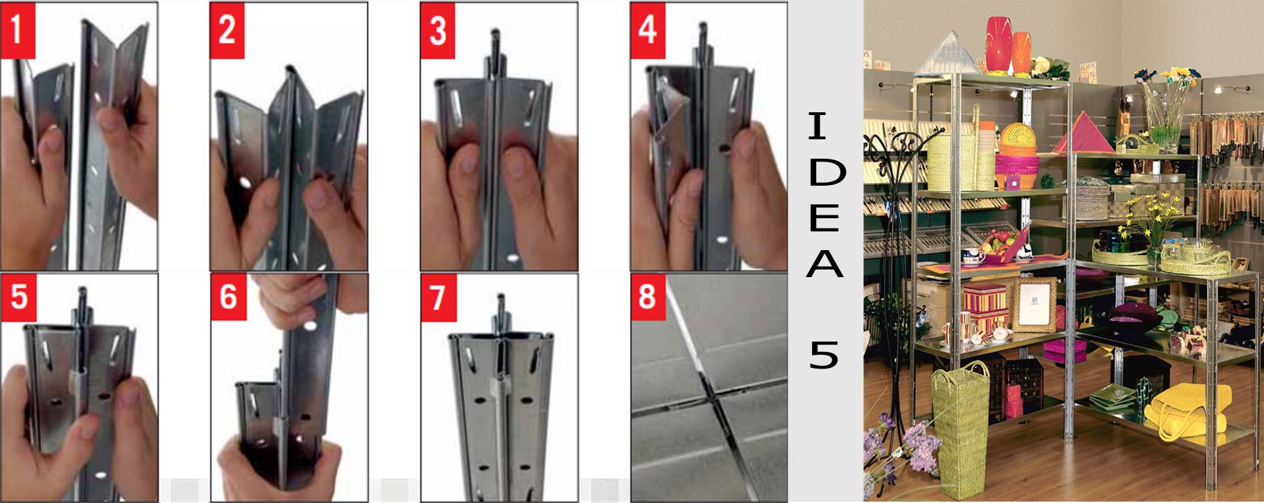 Rafturi Idea5 depozitare usoara 7