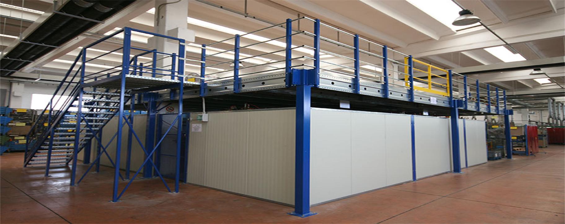 Rafturi metalice depozitare usoara